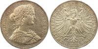 Doppeltaler 1866 Frankfurt-Stadt  Winz. Randfehler, sehr schön +  165,00 EUR  zzgl. 4,00 EUR Versand