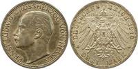 3 Mark 1910  A Hessen Ernst Ludwig 1892-1918. Sehr schön - vorzüglich  110,00 EUR  zzgl. 4,00 EUR Versand