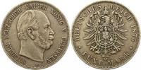 5 Mark 1876  C Preußen Wilhelm I. 1861-1888. Fast sehr schön  35,00 EUR  zzgl. 4,00 EUR Versand