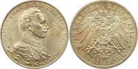3 Mark 1913 Preußen Wilhelm II. 1888-1918. Fast Stempelglanz  22,00 EUR  zzgl. 4,00 EUR Versand