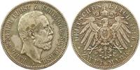 2 Mark 1896  A Schwarzburg-Sondershausen Karl Günther 1880-1909. Sehr s... 365,00 EUR kostenloser Versand