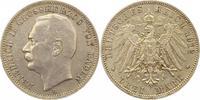 3 Mark 1912  G Baden Friedrich II. 1907-1918. Sehr schön +  19,00 EUR  zzgl. 4,00 EUR Versand