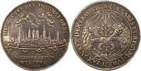 Medaille 1648 Münster-Der Westfälische Friede  Minimal berieben, winz. ... 445,00 EUR kostenloser Versand