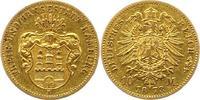 10 Mark Gold 1873  B Hamburg  Sehr schön  3950,00 EUR kostenloser Versand