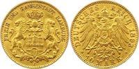 10 Mark Gold 1893  J Hamburg  Sehr schön +  240,00 EUR  zzgl. 4,00 EUR Versand