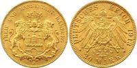 20 Mark Gold 1913  J Hamburg  Vorzüglich - Stempelglanz  345,00 EUR kostenloser Versand