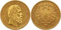 20 Mark Gold 1873  F Württemberg Karl 1864-1891. Sehr schön +  375,00 EUR kostenloser Versand