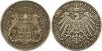 2 Mark 1912  J Hamburg  Schöne Patina. Sehr schön - vorzüglich  95,00 EUR  zzgl. 4,00 EUR Versand
