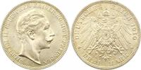 3 Mark 1910  A Preußen Wilhelm II. 1888-1918. Prachtexemplar. Fast Stem... 45,00 EUR  zzgl. 4,00 EUR Versand