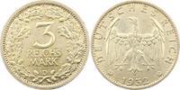 3 Mark 1932  D Weimarer Republik  Fast vorzüglich  385,00 EUR kostenloser Versand