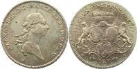 Taler 1767  G Brandenburg-Ansbach Alexander 1757-1791. Leicht justiert,... 225,00 EUR  zzgl. 4,00 EUR Versand