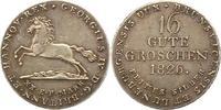 16 Gute Groschen 1826 Braunschweig-Calenberg-Hannover Georg IV. 1820-18... 75,00 EUR  zzgl. 4,00 EUR Versand