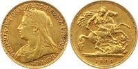 1/2 Sovereign Gold 1896 Großbritannien Victoria 1837-1901. Sehr schön  185,00 EUR  zzgl. 4,00 EUR Versand