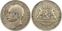 Taler 1863 Nassau Adolph 1839-1866. Bearbeitet, schön - sehr schön  55,00 EUR  zzgl. 4,00 EUR Versand