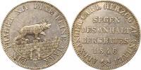Ausbeutetaler 1846  A Anhalt-Bernburg Alexander Carl 1834-1863. Sehr sc... 125,00 EUR  zzgl. 4,00 EUR Versand