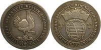 2/3 Taler 1693 Henneberg, Grafschaft Bernhard von Sachsen-Meiningen 168... 325,00 EUR kostenloser Versand