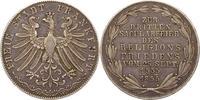 Doppelgulden 1855 Frankfurt-Stadt  Schöne Patina. Sehr schön  165,00 EUR  zzgl. 4,00 EUR Versand