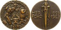 Bronzegussmedaille 1923 Herford, Stadt  Vorzüglich  95,00 EUR  zzgl. 4,00 EUR Versand