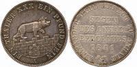 Ausbeutetaler 1861  A Anhalt-Bernburg Alexander Carl 1834-1863. Schöne ... 110,00 EUR  zzgl. 4,00 EUR Versand