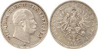 1/6 Taler 1865  A Brandenburg-Preußen Wilhelm I. 1861-1888. Sehr schön  50,00 EUR  zzgl. 4,00 EUR Versand