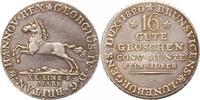 16 Gute Groschen 1820 Braunschweig-Calenberg-Hannover Georg IV. 1820-18... 75,00 EUR  zzgl. 4,00 EUR Versand
