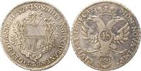 Taler zu 48 Schilling 1752 Lübeck-Stadt  Winz. Zainende, sehr schön  135,00 EUR  zzgl. 4,00 EUR Versand