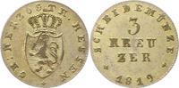 3 Kreuzuer 1819 Hessen-Darmstadt Ludwig I. 1806-1830. Sehr schön  38,00 EUR  zzgl. 4,00 EUR Versand