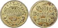 Silberabschlag von den Stempeln des 1/2  1717 Ulm, Stadt  Vorzüglich - ... 145,00 EUR  zzgl. 4,00 EUR Versand