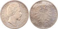 5 Mark 1874  D Bayern Ludwig II. 1864-1886. Fast sehr schön  52,00 EUR  zzgl. 4,00 EUR Versand