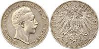 2 Mark 1899  A Preußen Wilhelm II. 1888-1918. Winz. Randfehler, sehr sc... 18,00 EUR  zzgl. 4,00 EUR Versand