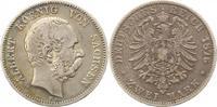 2 Mark 1876  E Sachsen Albert 1873-1902. Fast sehr schön  60,00 EUR  zzgl. 4,00 EUR Versand