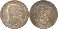 5 Mark 1895  F Württemberg Wilhelm II. 1891-1918. Winz. Kratzer, sehr s... 38,00 EUR  zzgl. 4,00 EUR Versand