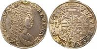 Gulden 1674 Sayn-Wittgenstein-Hohenstein Gustav 1657-1701. Henkelspur, ... 175,00 EUR  zzgl. 4,00 EUR Versand