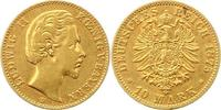 10 Mark Gold 1875  D Bayern Ludwig II. 1864-1886. Sehr schön  215,00 EUR  zzgl. 4,00 EUR Versand
