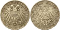 3 Mark 1908  A Lübeck  Sehr schön +  135,00 EUR  zzgl. 4,00 EUR Versand