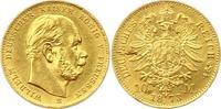 10 Mark Gold 1873  B Preußen Wilhelm I. 1861-1888. Schrötlingsfehler, s... 165,00 EUR  zzgl. 4,00 EUR Versand
