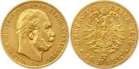 10 Mark Gold 1879  A Preußen Wilhelm I. 1861-1888. Winz. Kratzer, sehr ... 175,00 EUR  zzgl. 4,00 EUR Versand
