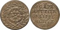 Mattier 1672 Lippe, Grafschaft Simon Heinrich 1666-1697. Sehr schön  25,00 EUR  zzgl. 4,00 EUR Versand
