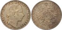 Gulden 1858  A Haus Habsburg Franz Joseph I. 1848-1916. Winz. Kratzer, ... 30,00 EUR  zzgl. 4,00 EUR Versand