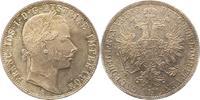 Gulden 1859  A Haus Habsburg Franz Joseph I. 1848-1916. Fast Stempelglanz  50,00 EUR  zzgl. 4,00 EUR Versand