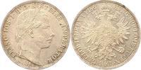 Gulden 1861  A Haus Habsburg Franz Joseph I. 1848-1916. Fast Stempelglanz  38,00 EUR  zzgl. 4,00 EUR Versand