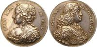 Silbermedaille 1648-1670 Dänemark Frederik III. 1648-1670. Schöne Patin... 395,00 EUR kostenloser Versand