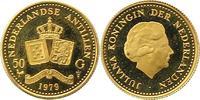 50 Gulden Gold 1979 Niederlandische Antillen  Vorzüglich - Stempelglanz  130,00 EUR  zzgl. 4,00 EUR Versand