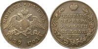 Rubel 1829 Russland Nikolaus I. 1825-1855. Sehr schön  165,00 EUR  zzgl. 4,00 EUR Versand