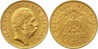 20 Mark Gold 1894  E Sachsen Albert 1873-1902. Sehr schön - vorzüglich  395,00 EUR kostenloser Versand