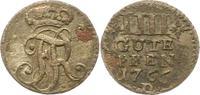 4 Gute Pfennig 1766  D Brandenburg-Preußen Friedrich II. 1740-1786. Seh... 75,00 EUR  zzgl. 4,00 EUR Versand
