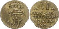 6 Pfennig 1804 Mecklenburg-Schwerin Friedrich Franz I. 1785-1837. Kl. Z... 34,00 EUR  zzgl. 4,00 EUR Versand