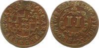 2 Pfennig 1706 Paderborn, Bistum Franz Arnold von Metternich 1704-1718.... 9,00 EUR  zzgl. 4,00 EUR Versand