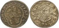 2 Kreuzer 1745 Pfalz-Kurlinie Karl Theodor 1742-1799. fast sehr schön  12,00 EUR  zzgl. 4,00 EUR Versand