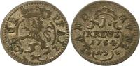 Kreuzer 1764  AS Pfalz-Kurlinie Karl Theodor 1742-1799. Sehr schön  12,00 EUR  zzgl. 4,00 EUR Versand